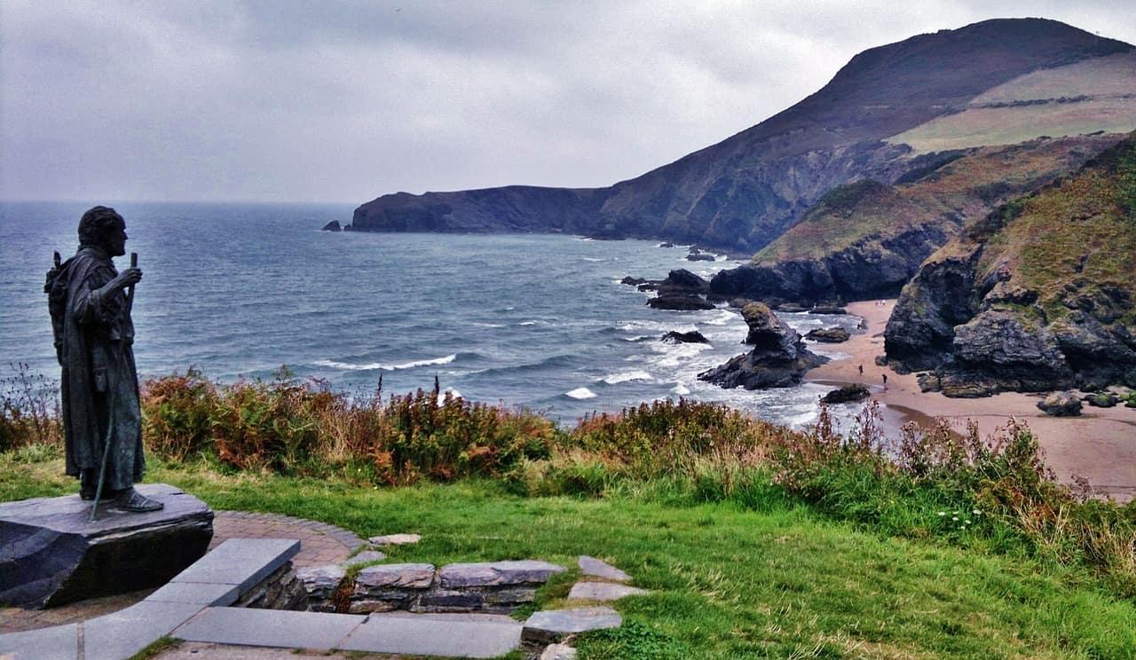 Coastline In Wales