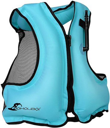 OMOUBOI Adult Inflatable Swim Vest