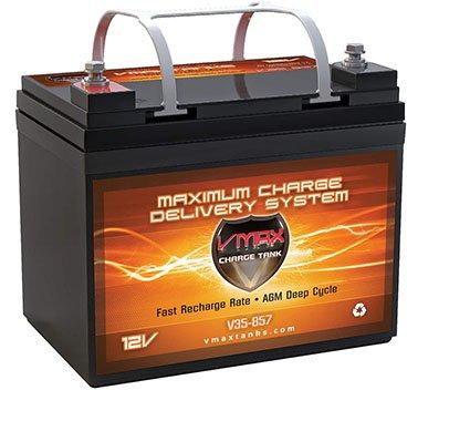 VMAX V35-857 Deep Cycle AGM Battery