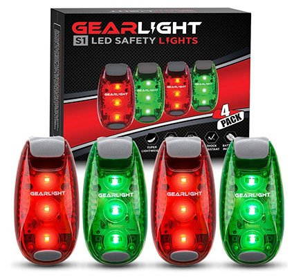 GearLight S1 LED Safety Lights [4 Pack] for Boat