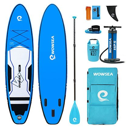 WOWSEA Cruise Inflatable Stand up Paddleboard