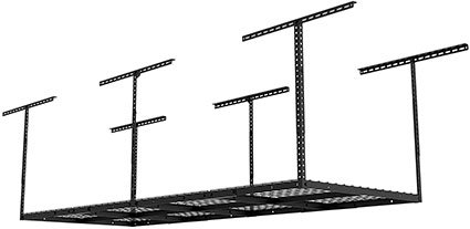 Fleximounts 3' x 8' Heavy Duty Overhead Garage Adjustable Ceiling Storage
