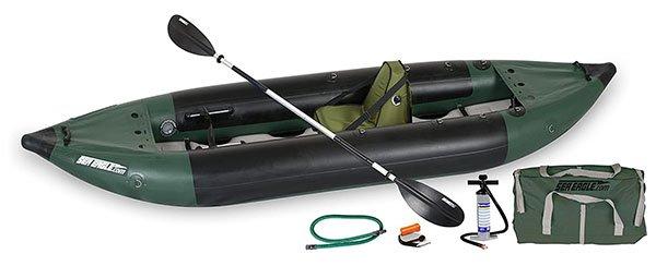 Sea Eagle 350FX Inflatable Fishing Explorer Kayak