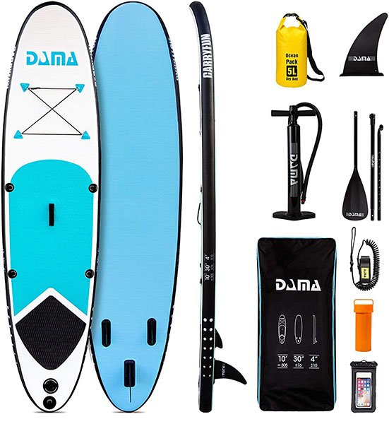 DamaYouth 10' Inflatable Stand Up Paddle Board