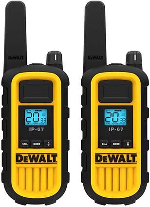 DEWALT DXFRS800 Heavy Duty Walkie Talkies